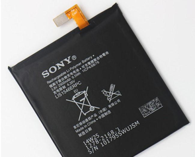 แบตเตอรี่ Sony Xperia C , T3 , s55t , m50 , Lis1546erpc (1)