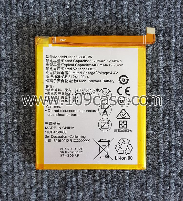 HB376883ECW แบตเตอรี่ Huawei P9 Plus P9+