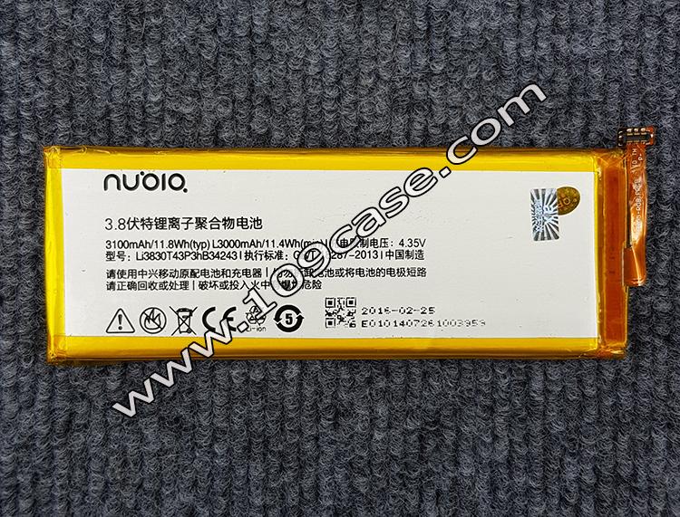 แบตเตอรี่ Nubia Li3830T43P3hB34243 ZTE นูเบีย Z7 max