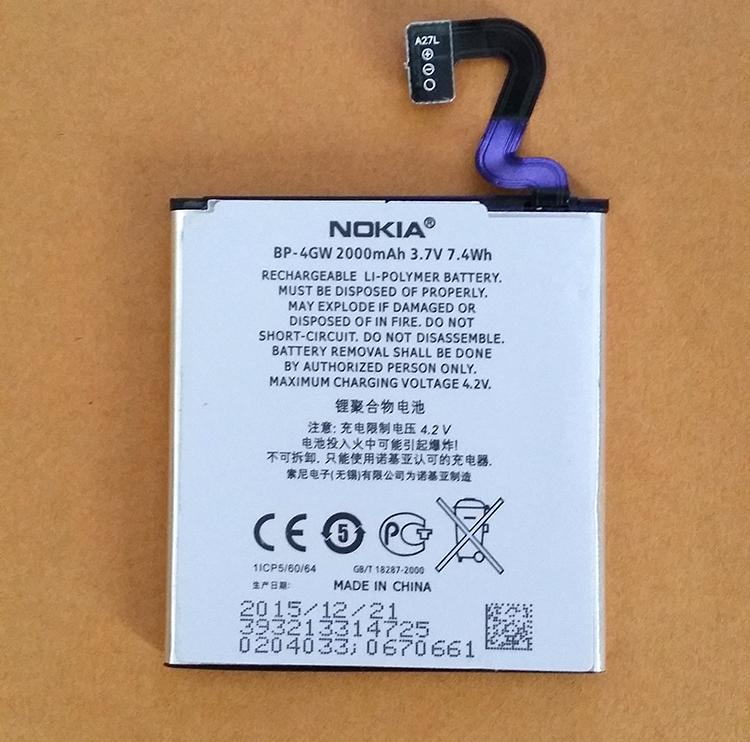 แบต Nokia Lumia 920 BP-4GW (2)