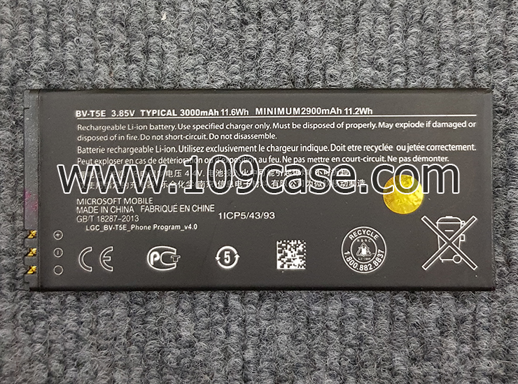 แบตเตอรี่ BV-T5E MIcrosoft Lumia 950 RM-1106 RM-1104 RM-110 Battery