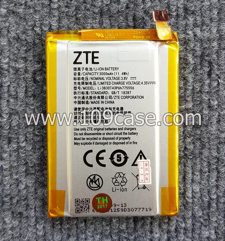 Battery Li3830T43P6h775556 zte axon a2015 แบตเตอรี่