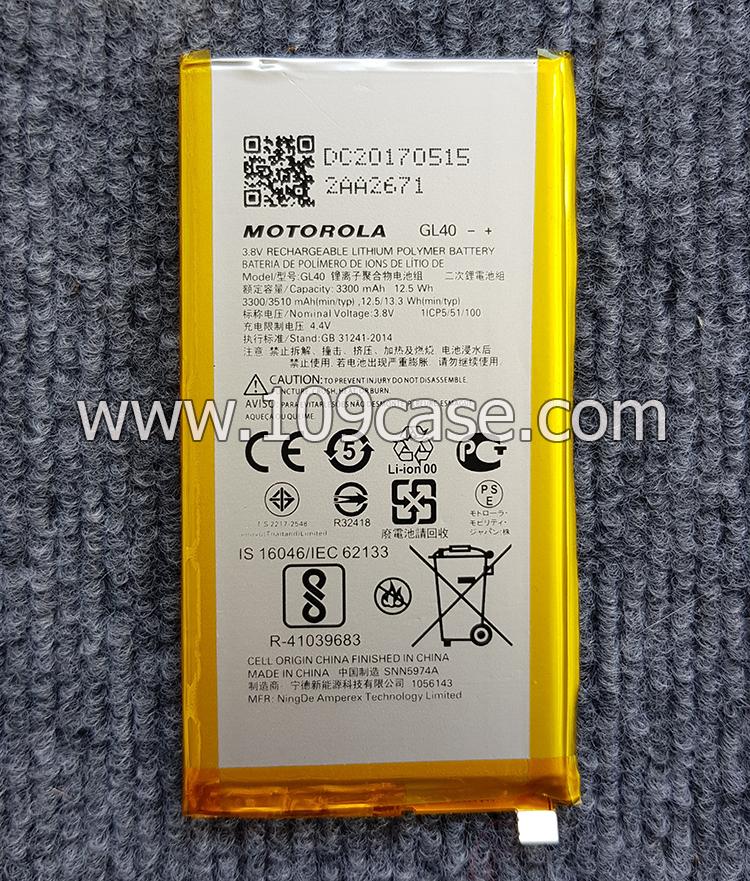 Battery gl40 MOTO Z play XT1635-03 แบตเตอรี่